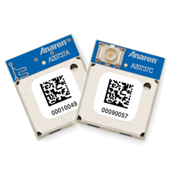 Anaren's new, pre-certified AIR for WICED modules for embedded Bluetooth Smart application