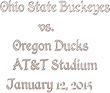 Buckeyes vs. Ducks College Football Championship Tickets: Ticket Down...
