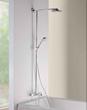Hansgrohe HG SHOWER 27146001 180 Tub Shower Showerpipe