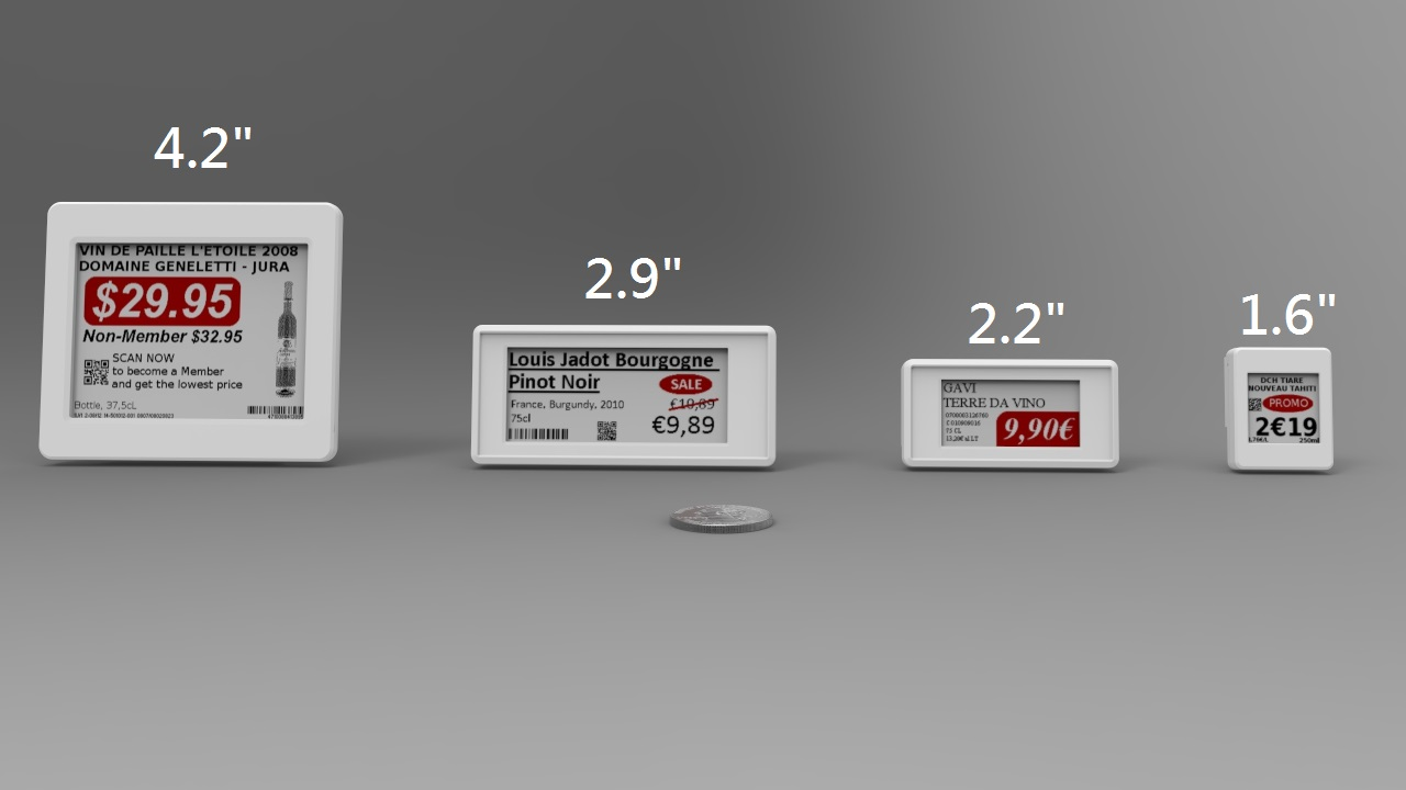 m u00b2communication launches full product line for electronic shelf labels  esl  and factory