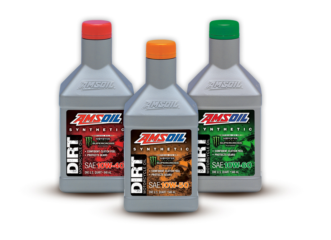 Amsoil Announces New Synthetic Dirt Bike Oil Available In