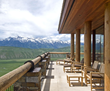 "The ultraluxurious Amangani private villa experience is ""awesome in the literal sense of that word,"" according to a homeowner of one of the Jackson Hole residences. (Photo: Ward + Blake Architects)"