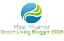 Most Influential Green Living Blogger 2015