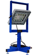 Portable Explosion Proof LED Work Light with Pedestal Mount Frame and 50' Cord