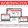 Shop, Plan, Order furniture on any device from Worthington Direct