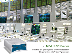 NISE 3720 Industrial IoT Gateway & Controller Series