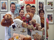 SmileCare Team Delivers More Than 350 Teddy Bears to Sick Children