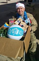 Maui Wowi spreads holiday and Aloha spirit to military