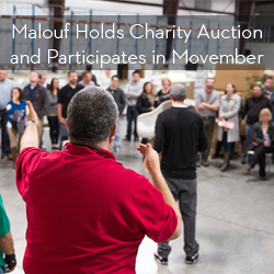 Malouf Auction, Movember