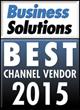 APG Cash Drawer Named 2015 Best Channel Vendor