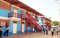 One of 30 new school buildings built by Compassion International as part of the relief and recovery efforts in Haiti