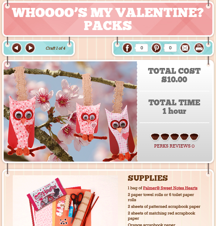r.m. palmer company launches valentine's day website, Ideas