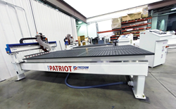 Freedom Machine Tool Patriot 5x10 CNC Router 2015