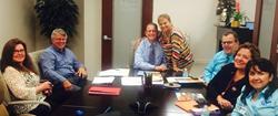 Carlos J. Reyes, Esq. with Elaine Vasquez