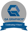 QA Graphics Celebrates 8 Years of Business