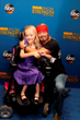 Reagan Imhoff on the blue carpet with Bret Michaels at the 2014 MDA Show of Strength Telethon
