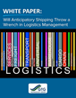 GTG Technology Group Releases White Paper on Potential Logistical...