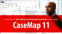 LexisNexis CaseMap 11, litigation software