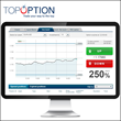 TopOption's trading platform