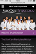 SkinCare Physicians' new mobile site