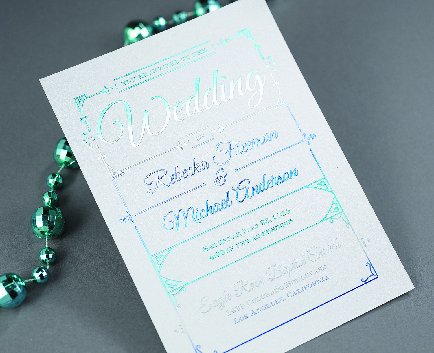 carlson craft® releases new themes  dreams™ album, Wedding invitations