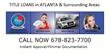 Title loan Atlanta