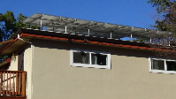 Solar Panels show EarthCalm's concern about energy consumption.