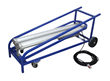 Dolly Cart Mounted Explosion Proof Fluorescent Work Light with 50' Cord