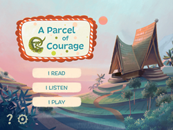 A Parcel of Courage App interactive picture book