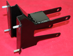 raked harley road glide inner fairing support bracket