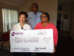 Congratulations to our 2014 $25K Prize Savings Winner, Marilyn Calahan!