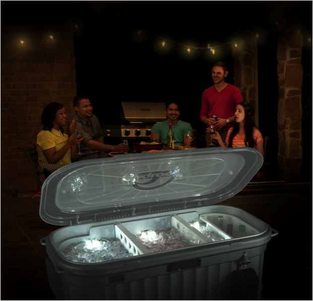 Igloo Announces The Party Bar The First Cooler Featuring