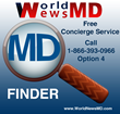 WorldNewsMD.com Announces Complimentary 800 Number to Book Doctor Appointments Nation Wide