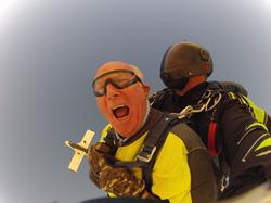 Viator tandem skydive in Las Vegas