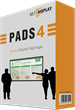 New PADS4 Software Release Offers Versatile HTML5 Signage Solution