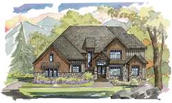 Fairview NC model home