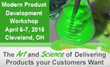 Exact Market to Present Modern Product Development Workshop in Cleveland, Ohio
