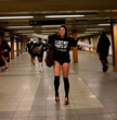 NO PANTS SUBWAY PROMO FRAMES BOWLING NYC