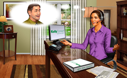 KellyConnect Home Agent Contact Center Environment