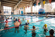 Olympic Swimming Medalists Ryan Lochte and Tyler Clary Visit Naval...