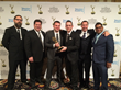 Unlimi-Tech accepts Emmy Award during reception at Consumer...