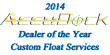 AccuDock® Announces 2014 Dealer of the Year