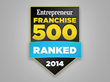 Sir Grout Ranks on Entrepreneur Magazine's Franchise 500 List for the Fifth Consecutive Year