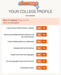 Shmoop College Planning Tool