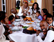 Angela Bassett's Family and Thanksgiving