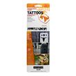 tenacious tape, tattoos, custom patch