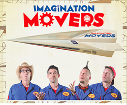 kids music, Disney, power pop, Imagination Movers, live music