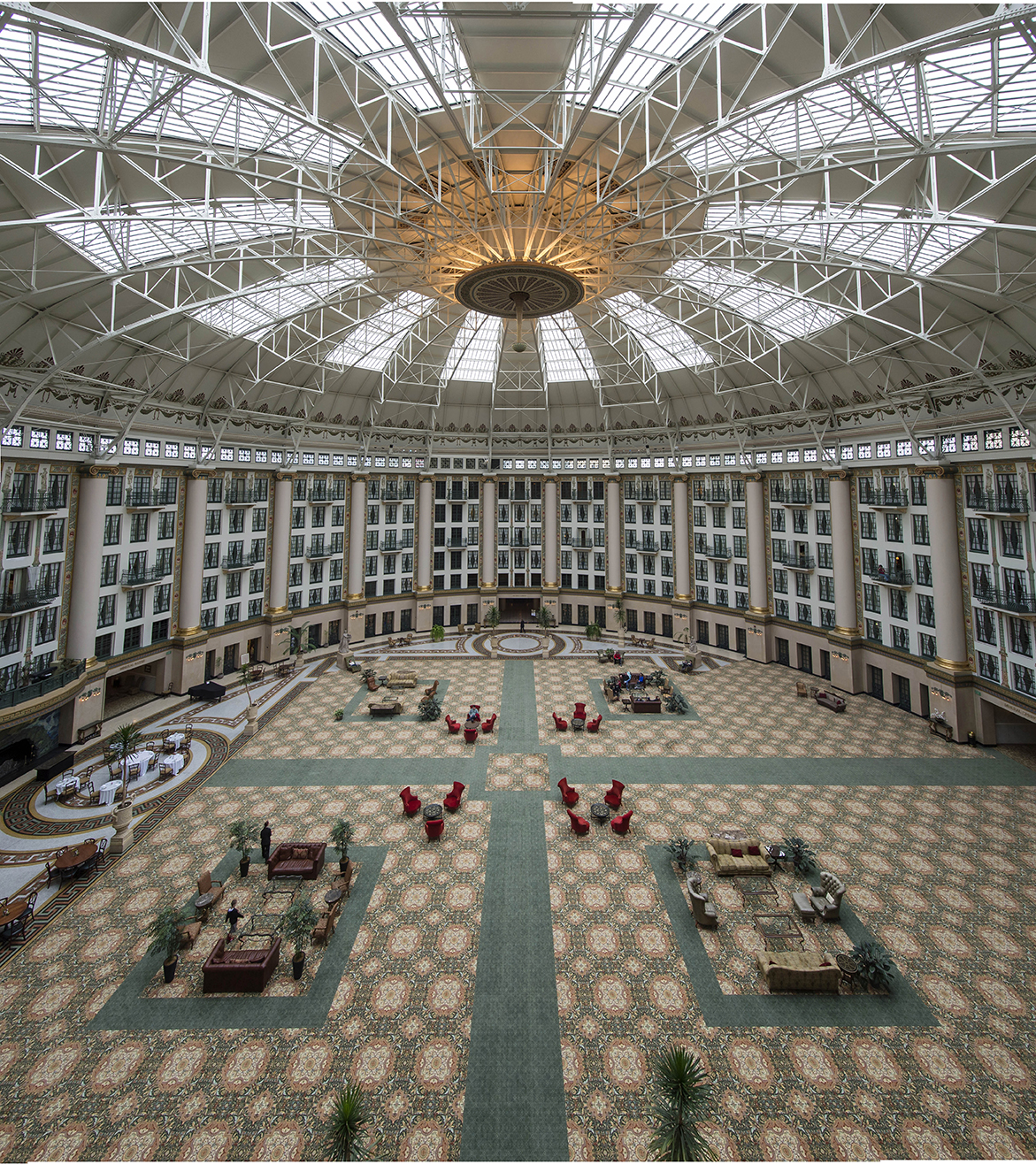 French Lick Resort Offers Two Hotel Properties Including The West Baden Springs
