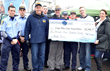 Cops Who Care Give to Needy LI Families With Great Help from a Local...
