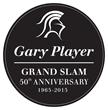 Gary Player Grand Slam 50th Anniversary Logo
